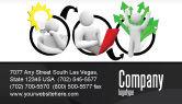 Education & Training: Idea Implementation Plan Business Card Template #07375