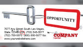 Consulting: Key Opportunity Business Card Template #07495