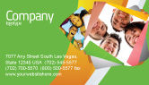 Careers/Industry: Students Team Business Card Template #07551