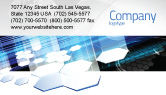 Technology, Science & Computers: Solar Panels Business Card Template #07609
