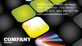 Business: Lighted Path Business Card Template #07916