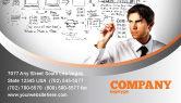 Consulting: Zakelijk Succes Planning Visitekaartje Template #08235