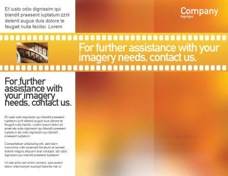 Popcorn Brochure Template, Inner Page, 00962, Art & Entertainment — PoweredTemplate.com