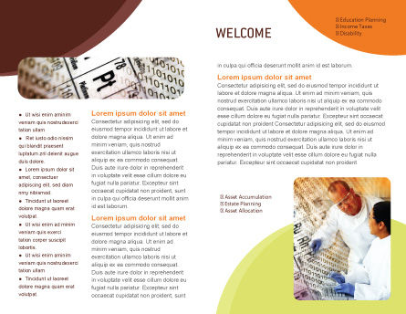 Chemical Research Brochure Template, Inner Page, 01028, Technology, Science & Computers — PoweredTemplate.com
