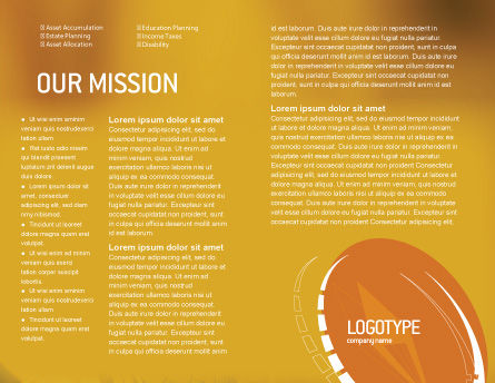 Compass Brochure Template, Inner Page, 01284, Business Concepts — PoweredTemplate.com