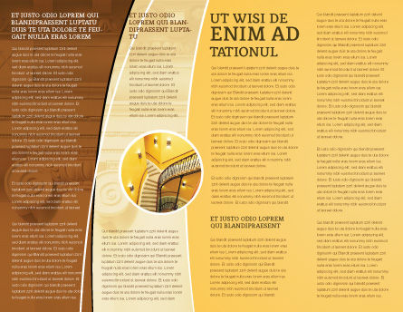 Column Brochure Template Inner Page