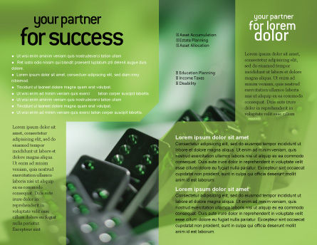 Domino Brochure Template Inner Page