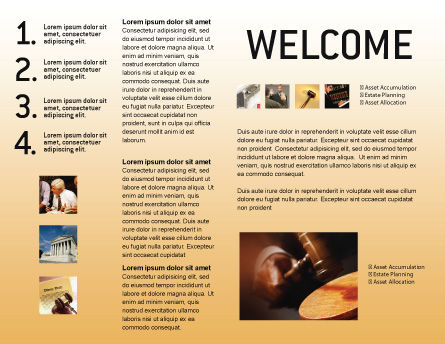 Legal Brochure Template Design And Layout Download Now - State brochure template