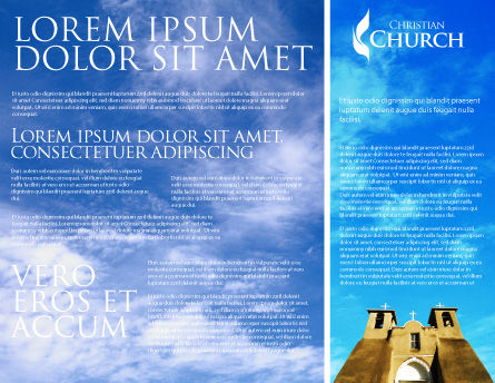 San Francisco de Asis Mission Church Brochure Template, Inner Page, 01655, Religious/Spiritual — PoweredTemplate.com
