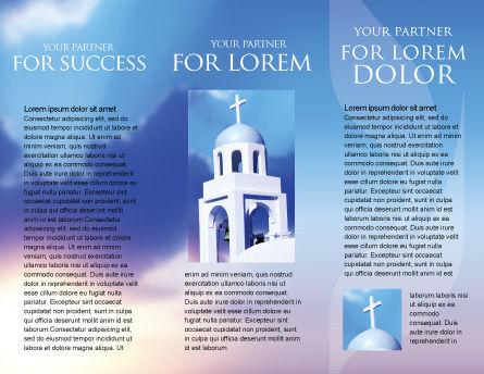 Belfry Brochure Template, Inner Page, 01739, Religious/Spiritual — PoweredTemplate.com