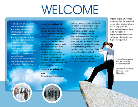 Future Perspective Brochure Template Inner Page