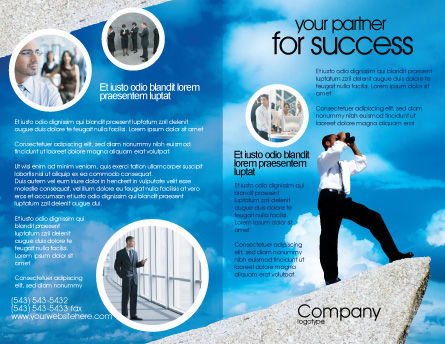 Future Perspective Brochure Template Outer Page
