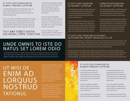 Music School Brochure Template, Inner Page, 01806, Art & Entertainment — PoweredTemplate.com