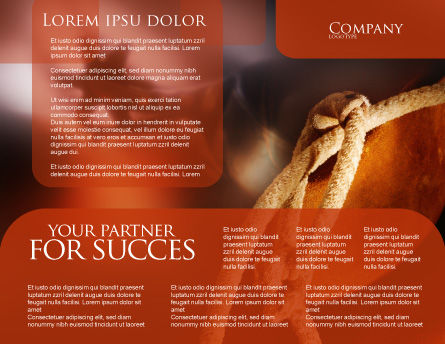 Spur Brochure Template, Inner Page, 01875, Art & Entertainment — PoweredTemplate.com