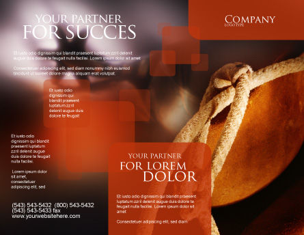 Spur Brochure Template, Outer Page, 01875, Art & Entertainment — PoweredTemplate.com