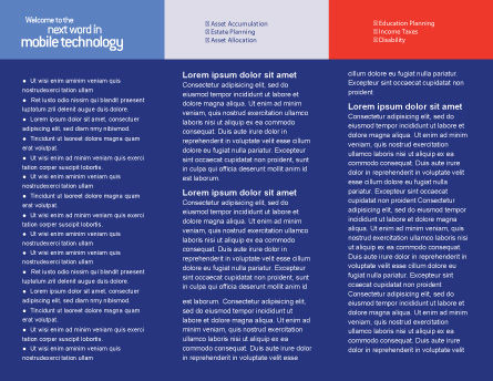 Property Insurance Brochure Template, Inner Page, 01878, Business Concepts — PoweredTemplate.com