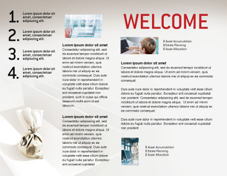 Profit Brochure Template, Inner Page, 01928, Careers/Industry — PoweredTemplate.com