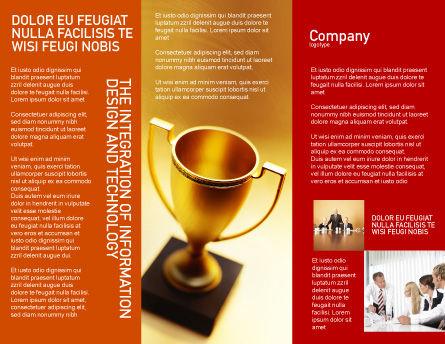 Winner Cup Brochure Template, Inner Page, 01933, Sports — PoweredTemplate.com