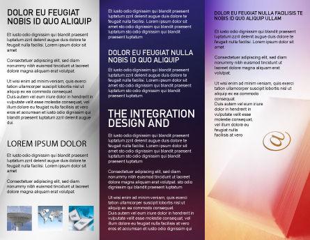 Internet Links Brochure Template, Inner Page, 01935, Telecommunication — PoweredTemplate.com