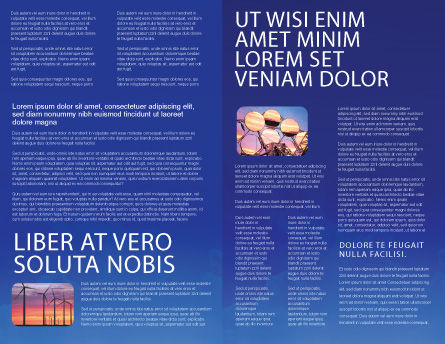 Solar Panels Rising Up Power Brochure Template, Inner Page, 01936, Technology, Science & Computers — PoweredTemplate.com