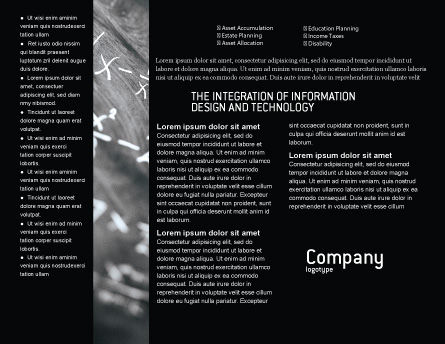 Business Logic Brochure Template, Inner Page, 01962, Education & Training — PoweredTemplate.com