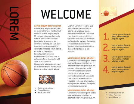 Before Basketball Game Brochure Template Inner Page