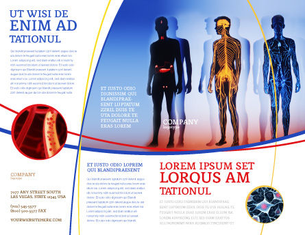 Systems of Body Brochure Template Outer Page