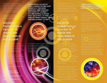Whirlpool Brochure Template, Inner Page, 02087, Abstract/Textures — PoweredTemplate.com