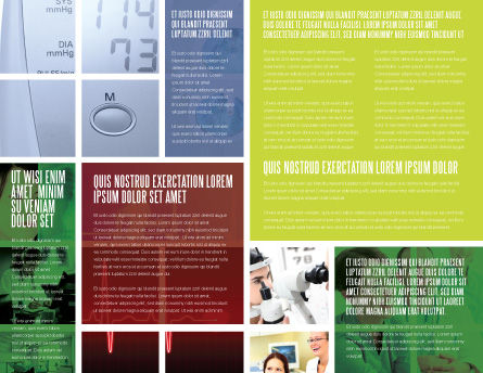 Clinic Brochure Template Inner Page