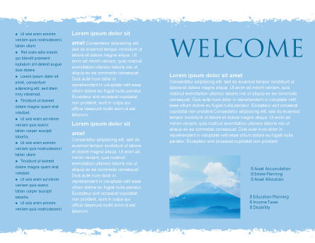 Fujiyama Brochure Template, Inner Page, 02226, Nature & Environment — PoweredTemplate.com
