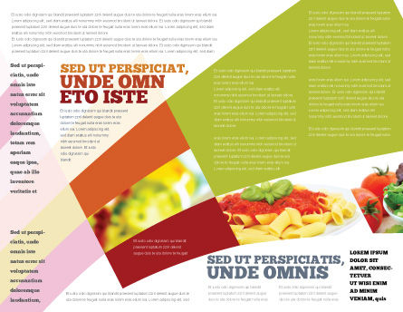 Italian Food Brochure Template, Inner Page, 02244, Food & Beverage — PoweredTemplate.com