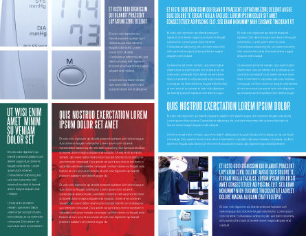 Reanimation Brochure Template, Inner Page, 02288, Medical — PoweredTemplate.com
