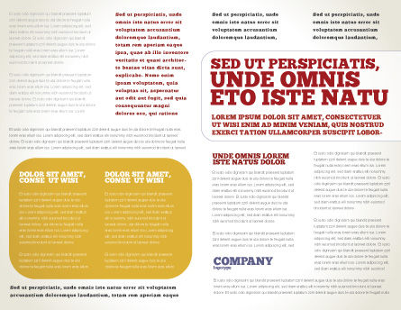 White Wine Tasting Brochure Template, Inner Page, 02342, Food & Beverage — PoweredTemplate.com