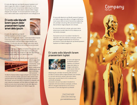 movie award brochure template outer page 02371 art entertainment poweredtemplate