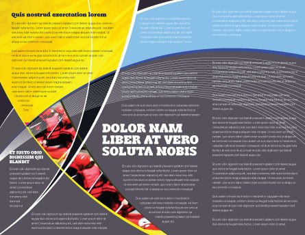 Rafting Brochure Template, Inner Page, 02380, Sports — PoweredTemplate.com