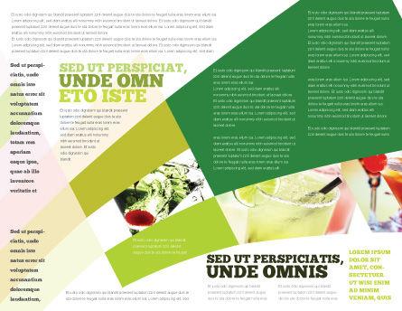 Lime Brochure Template, Inner Page, 02460, Food & Beverage — PoweredTemplate.com