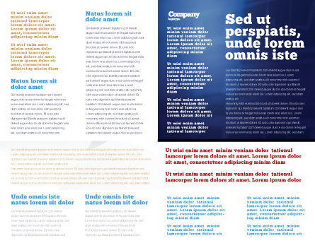 First Aid Brochure Template, Inner Page, 02490, Medical — PoweredTemplate.com