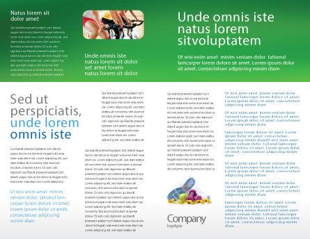 Wellness Brochure Template Inner Page