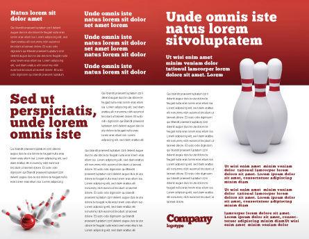 Skittles Brochure Template Inner Page