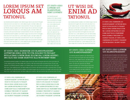 Hot Pepper Brochure Template, Inner Page, 02550, Food & Beverage — PoweredTemplate.com