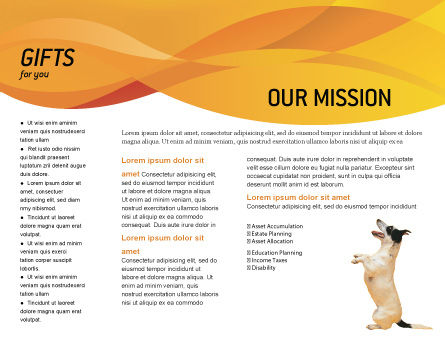 Pet Brochure Template, Inner Page, 02559, Business Concepts — PoweredTemplate.com