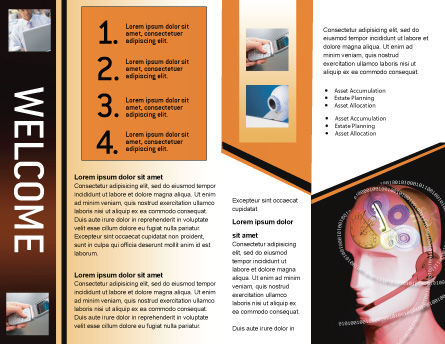 Mechanic Head Brochure Template Inner Page