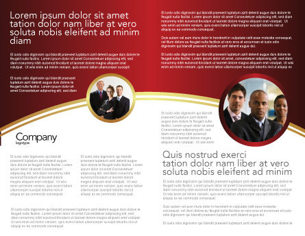 Boss Brochure Template Inner Page