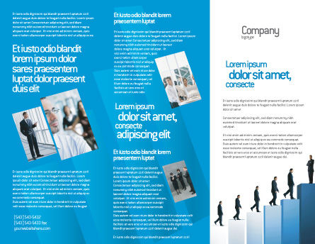 Successful career brochure template design and layout download now successful career brochure template outer page 02715 business poweredtemplate maxwellsz