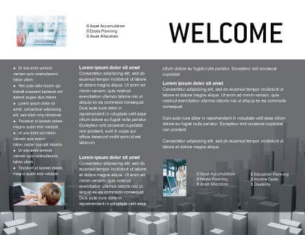 Megalopolis Brochure Template, Inner Page, 02726, Construction — PoweredTemplate.com
