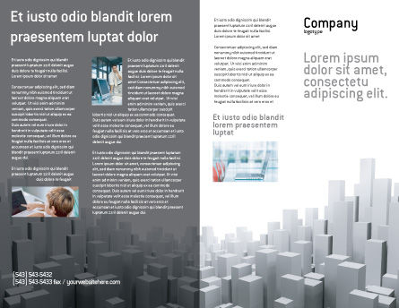 Megalopolis Brochure Template Outer Page