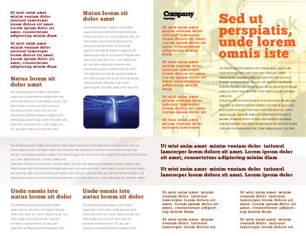 Computer Universe Brochure Template Inner Page