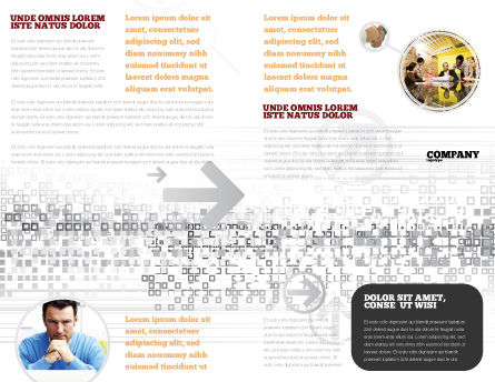 Strategic Position Brochure Template, Inner Page, 02755, Sports — PoweredTemplate.com