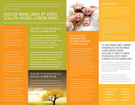 Family Brochure Template Inner Page