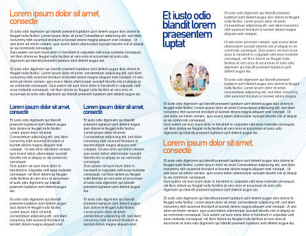 Atom Brochure Template, Inner Page, 02803, Education & Training — PoweredTemplate.com